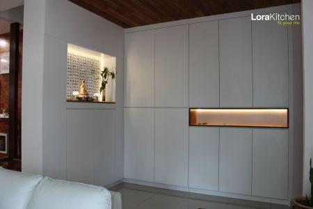 Lora Kitchen Design - Altar Cabinet