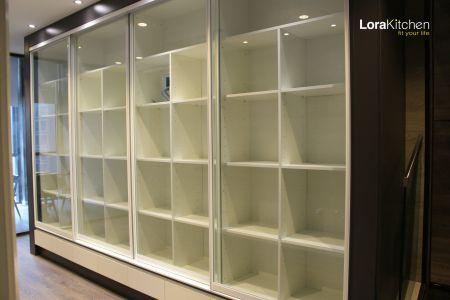 Lora Kitchen Design - Book Cabinet