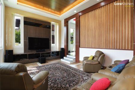 Lora Kitchen Design - Designer TV Cabinet