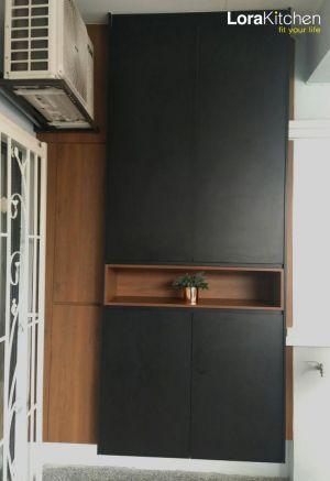 Lora Kitchen Design - Shoe Cabinet