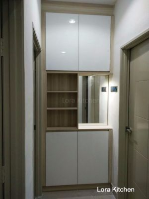 Lora Kitchen Design - Storage & Display Cabinet