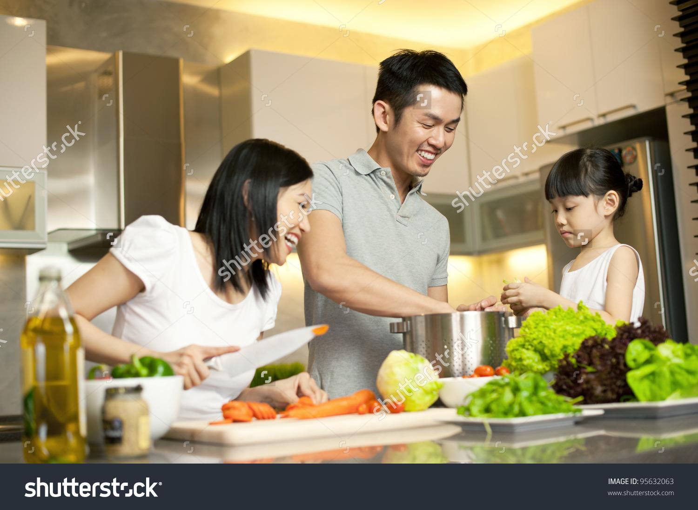 stock-photo-asian-family-kitchen-lifestyle-95632063